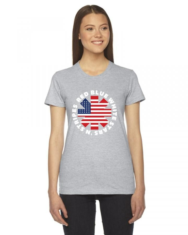american peppers Ladies Fitted T-Shirt