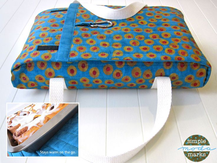 Casserole Carrier in Simple Marks for Moda Fabrics | Sew4Home