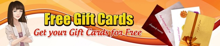 Get your free gift cards for shopping, food, gadgets and lots for more! http://freegiftcardssite.com