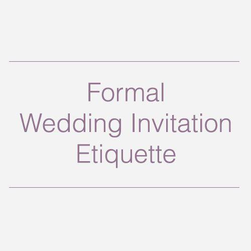 The 25+ Best Wedding Invitation Wording Etiquette Ideas On Pinterest | Invitation  Wording, Wedding Invitation Wording And Formal Invitation Wording