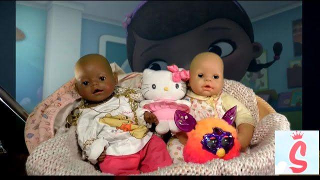 Доктор Плюшева набор доктора лечим Бейби Борн Ферби Baby born Doc McStuffins suitcase set playing
