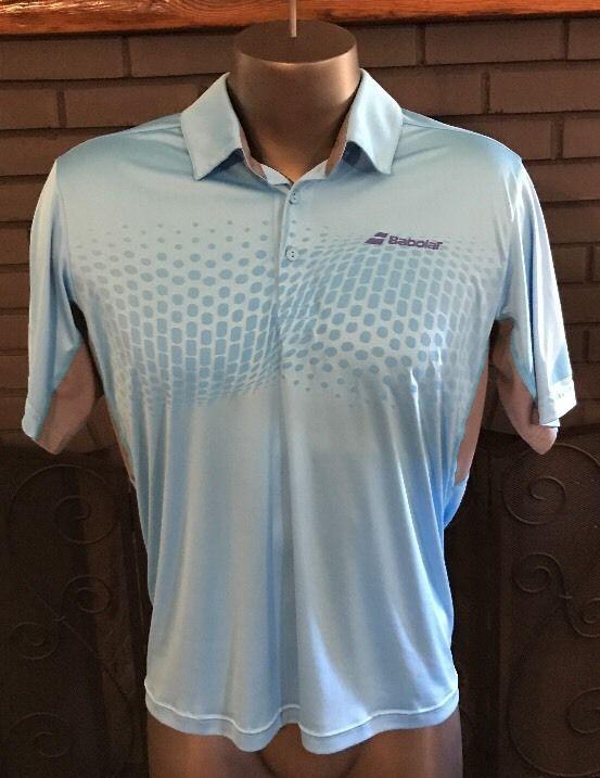 Babolat Tennis Polo Shirt  Men's Size Medium #Babolat