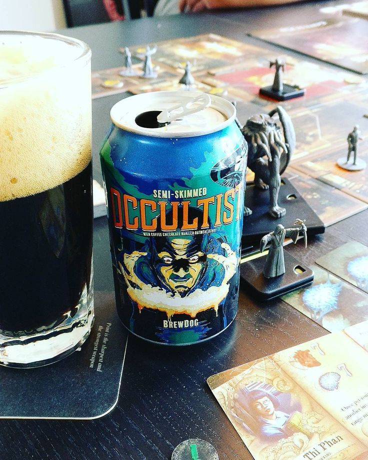 A thematically appropriate beer for the Mansions of Madness Boardgame. #beergeek #boardgames #boardgamegeek #milkstout #craftbeer