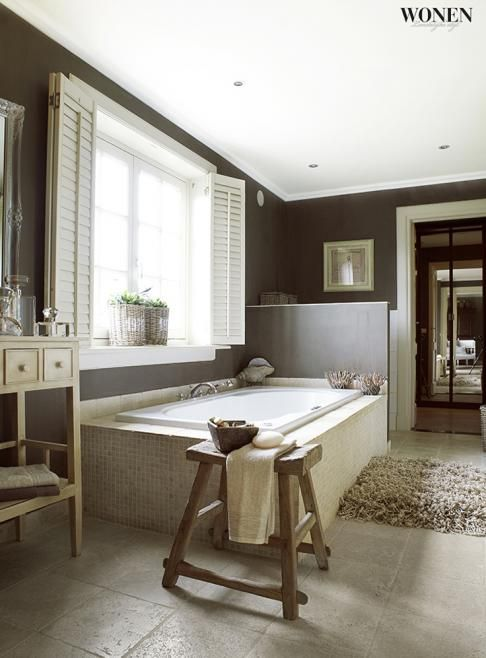 25+ beste ideeën over Spa badkamer ontwerp op Pinterest - Staand ...