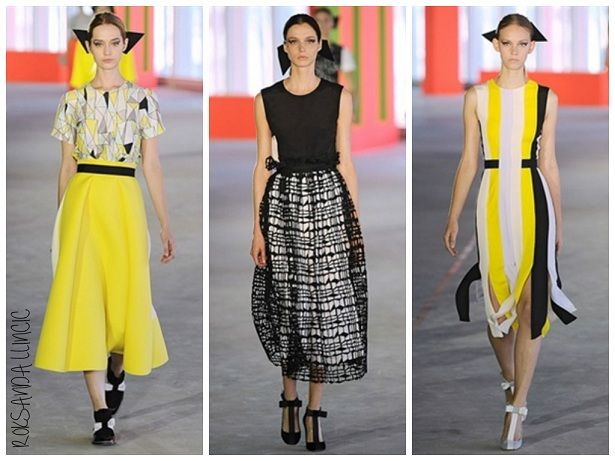 London Fashion Week Spring 2014: Roksanda Ilincic