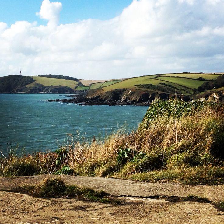 Polruan. Cornwall.