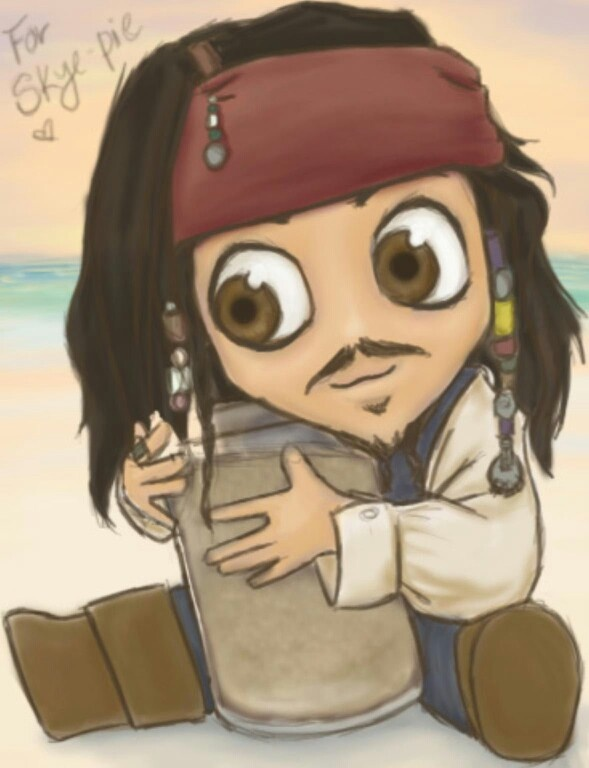 Adorable Little Jack Sparrow