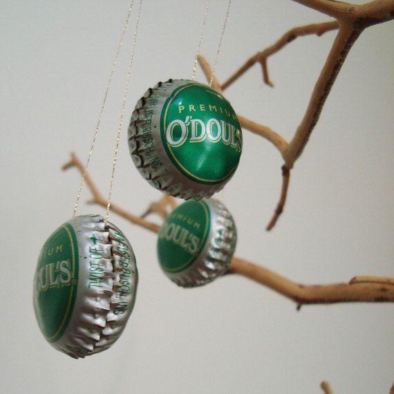 beer cap ornament
