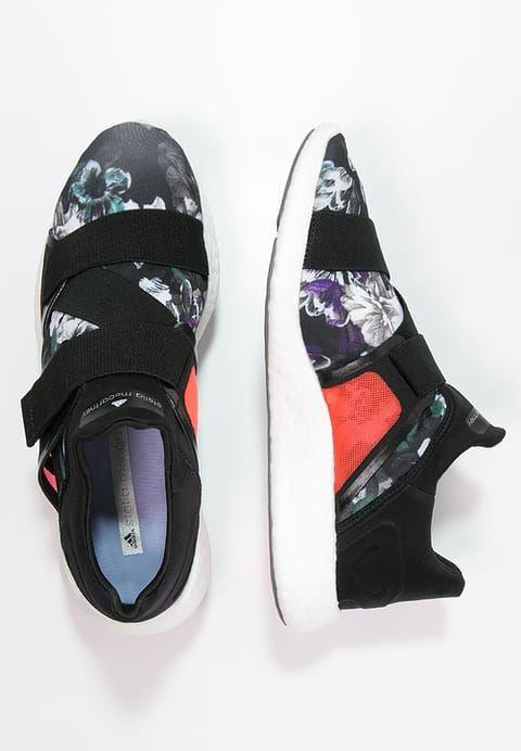 adidas by Stella McCartney PUREBOOST - Neutral running shoes - turbo/frog green/prime blue - Zalando.co.uk