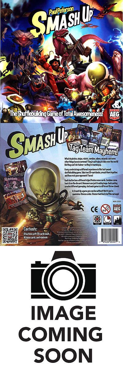 Other Card Games and Poker 2552: Smash Up Game -> BUY IT NOW ONLY: $31.99 on eBay!