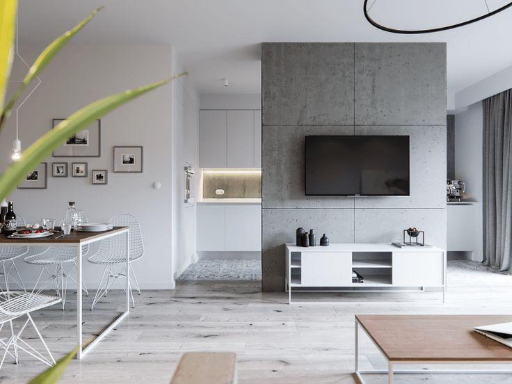 Loft en blanco con acento industrial, diseño y elegancia #loft #Hometour #industrial #diseño #design #elegancia #interiorismo