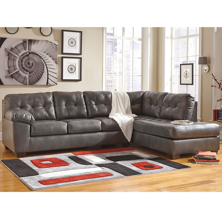 Signature Design By Ashley Alliston Sectional With Right