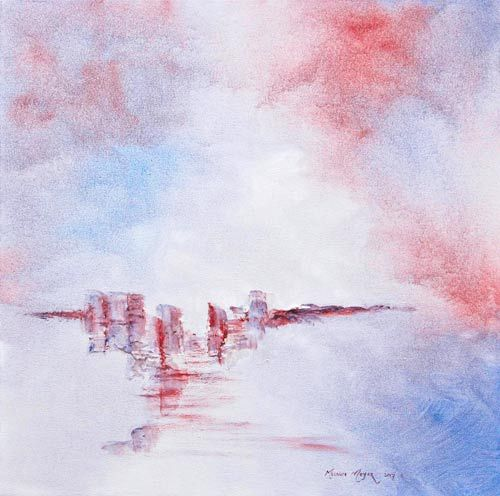 White Cliffs of Heaven 02 by Melanie Meyer, available for purchase
