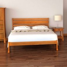 Contemporary Craftsman Platform Bed