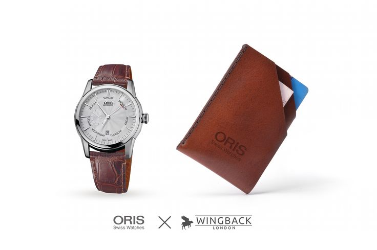 We're delighted to announce our latest collaboration with Swiss watch brand, Oris. #Oris #Watch #Wallet