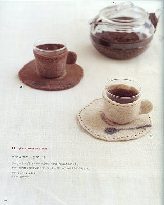 """from the book """"simple zakka and bag of felt wool"""", ISBN # 4-277-43072-4"""