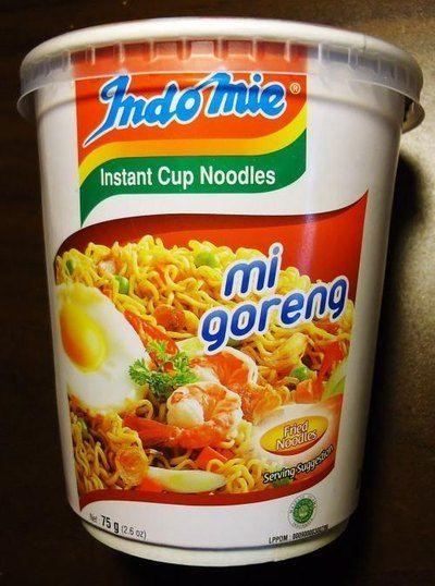 Satay Noodles (Edinburgh Chinese Supermarket)