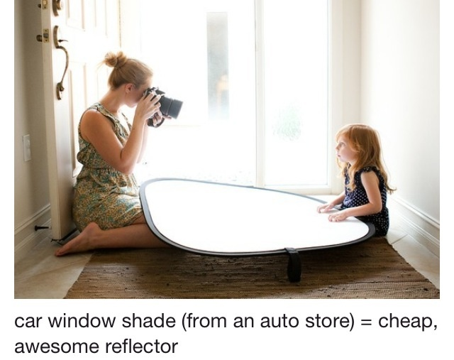 DIY cheap reflector.