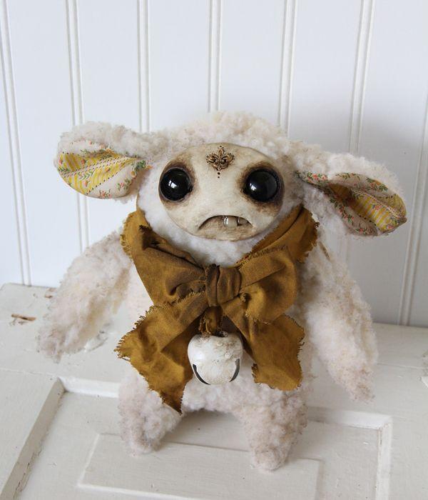 Little Lamb, Yellow by Amanda Louise Spayd