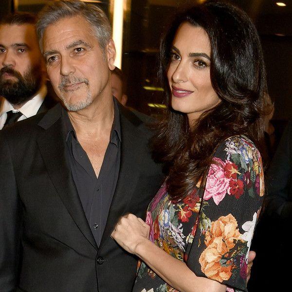 """Amal e George Clooney gravidos de gêmeos   George disse que temJean-Paul Belmondocomo inspiração já que o ator se tornou pai quando tinha 70 anos em 2003. """"Então eu estou me sentindo um pouco melhor sobre ter 56 no momento [da vinda dos gêmeos]"""".  No último domingo 19Georgeconcedeu uma entrevista ao programa francêsRencontres de Cinemae falou sobre ser papai de primeira viagem ao lado deAmal.George não parou de sorrir e disse: """"Estamos muito felizes e muito animados. Vai ser uma aventura…"""