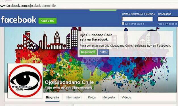 Ojo ciudadano Chile Facebook