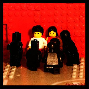 Never let it be said we don't cover the important stuff on NME.COM. The design website Speckyboy has gathered together loads of album sleeves rendered in Lego - and here are a few of the best, starting with The White Stripes, 'White Blood Cells'. Remember them this way.