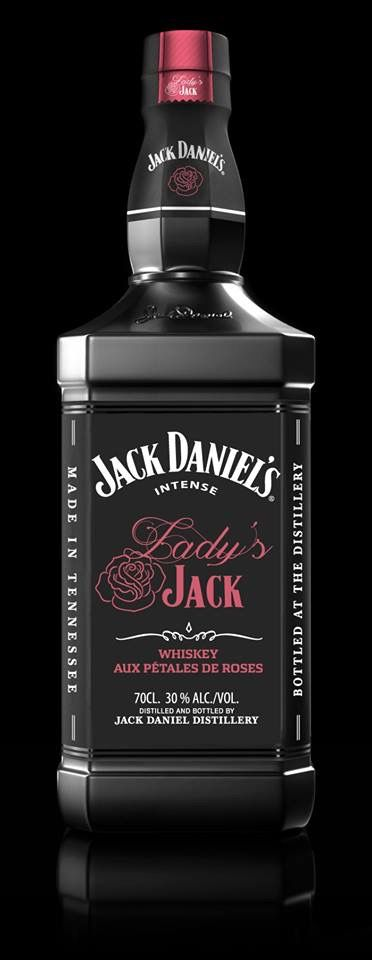 Label / Jack Daniels Pink Lady