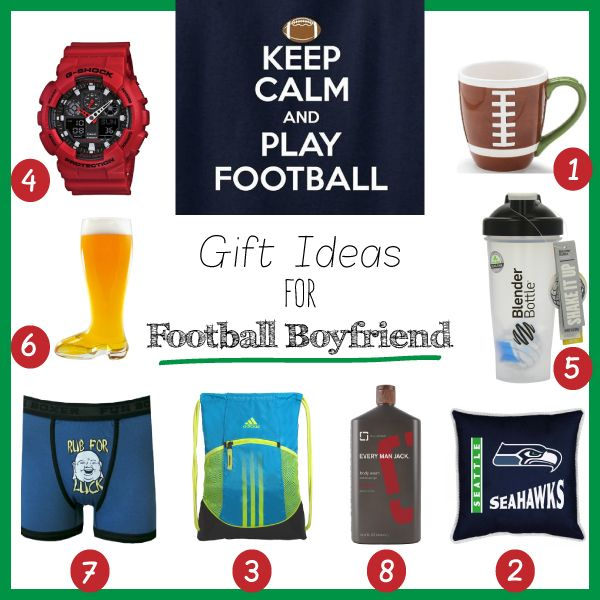 Top Gift Ideas For Football Boyfriend 2017