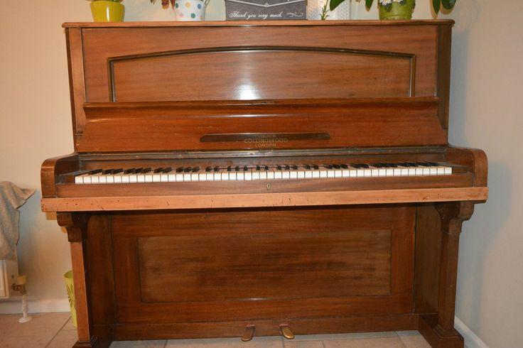 1920's London Mahogany Upright Piano | eBay