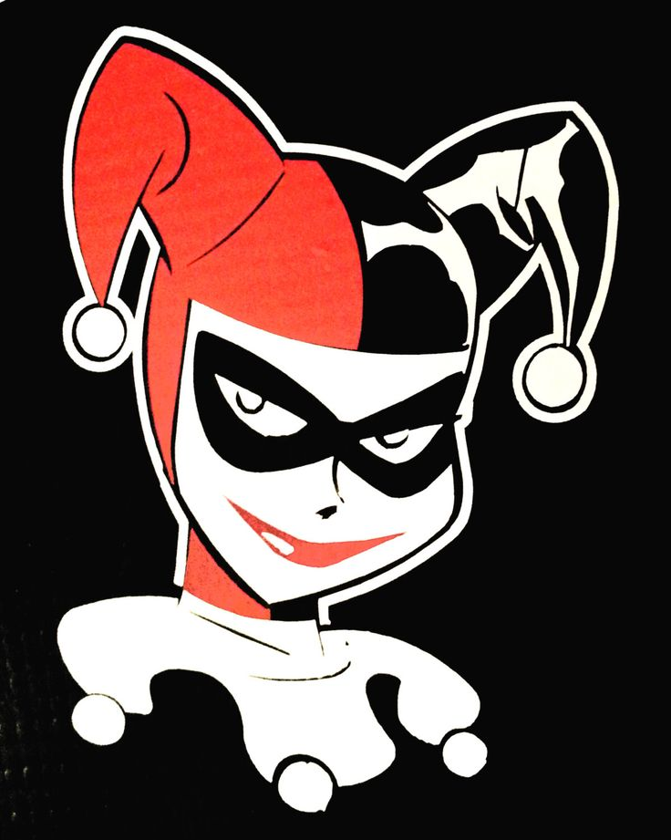 Harley Quinn - The Joker's Girlfriend by Bitchenstickerz on Etsy https://www.etsy.com/listing/236874806/harley-quinn-the-jokers-girlfriend