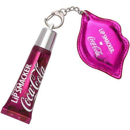 Lip Smacker Cherry Coca-Cola Refresh Lip Gloss with Keychain, 1.09 oz