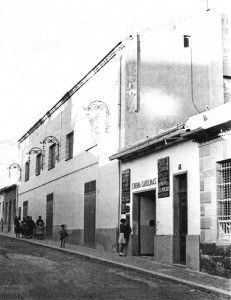 """Artículo nostálgico sobre las antiguas salas de Cine de Alicante. En esta foto: Cine Carolinas, conocido como """"Carolo"""""""