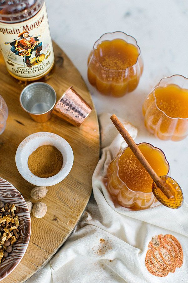 Top Atlanta blogger Mandy Kellogg Rye shares a festive fall cocktail: spiced apple cider with rum. This spiced apple cider recipe is a fantastic drink ...