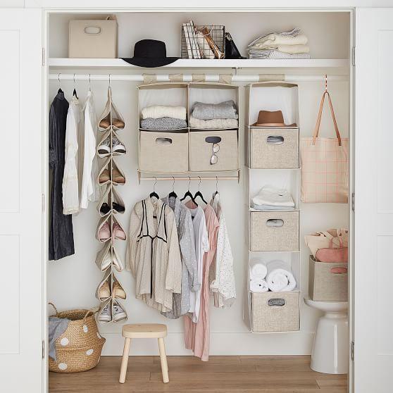Hanging Closet Sweater Organizer Hanging Closet Closet Bedroom Dorm Closet Organization