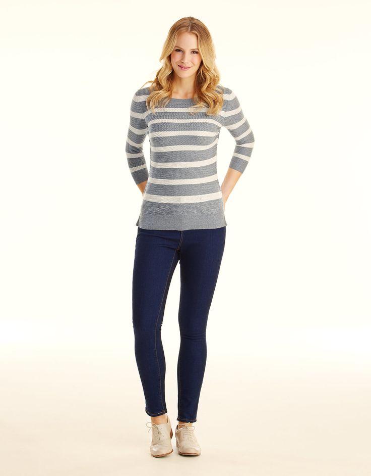 I need a pair of dark skinny jeans  Dark Denim Skinny Jeans in Dark Denim by Pepperberry