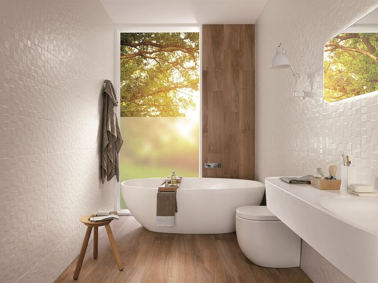 Indoor white-paste wall tiles LUMINA by FAP ceramiche