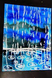 Resultat d'imatges de paint Rainy Autumn for kids