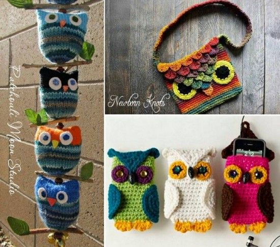 Owl Bag Knitting Pattern : 213 best images about knitting ,crochet & Loom ideas on Pinterest