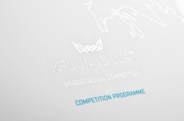 Kruunusillat Bridge Design Competition Invitation by Jani Paavola, via Behance