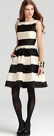 Striped Dress // Kate Spade