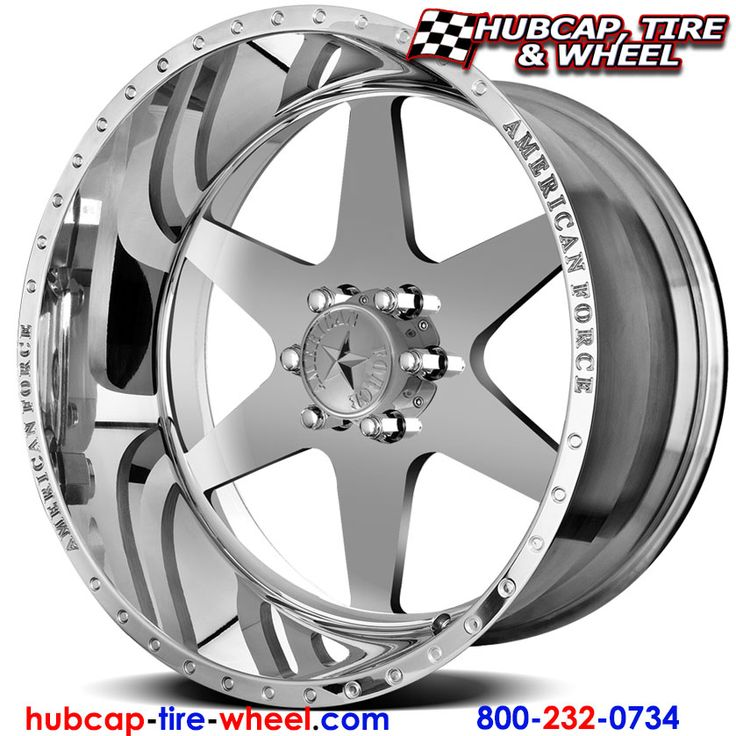 American Force Independence SS6 (6 Lugs) Polished (not chrome) Wheels & Rims for Trucks and Jeeps