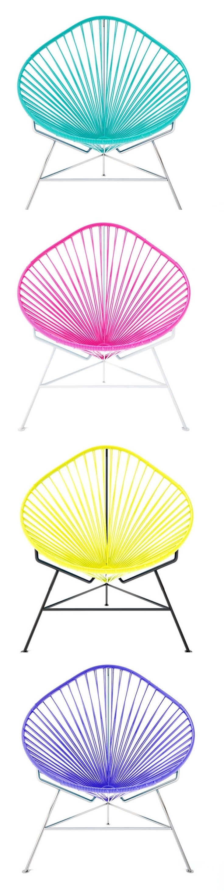 Acapulco chair cb2 - Wow These Chairs Are Awesome Acapulco