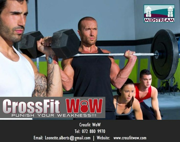 The CrossFit WoW box is located at the Square@Midstream in Midstream, Centurion, South Africa