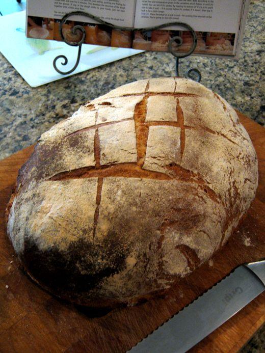 A white farm bread