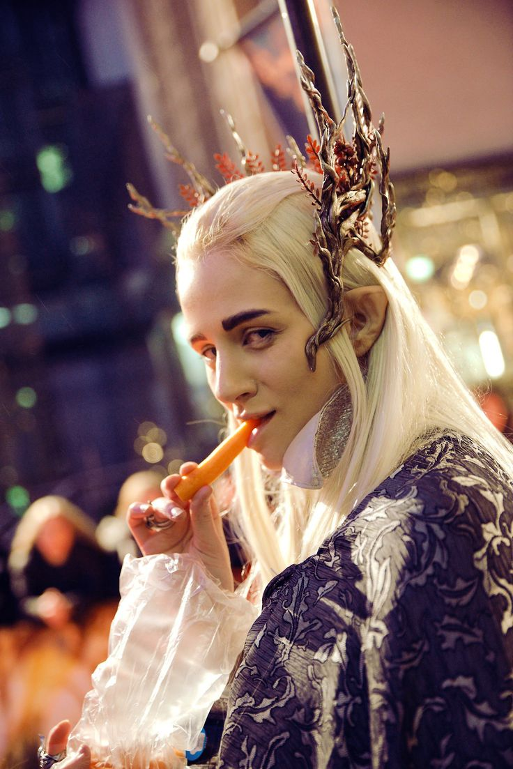 Sassy B*ches live longer. #Thranduil #Hobbit #Elf #Cosplay