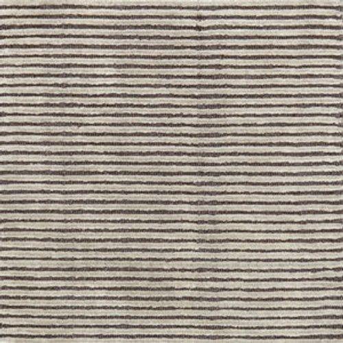 Dash & Albert Cut Stripe Grey Hand Knotted Rug