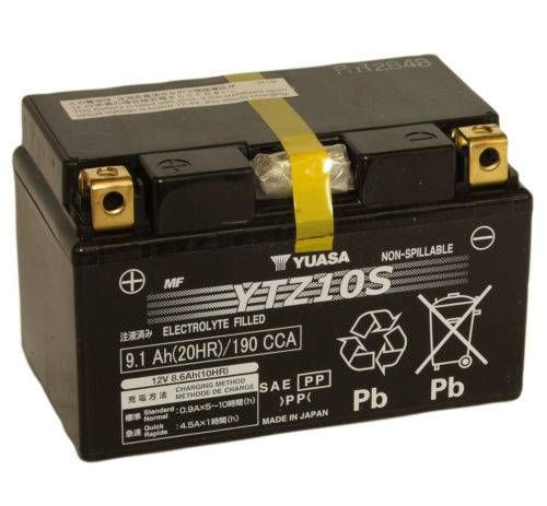 Yuasa YTZ10S Battery. *Factory Activated*