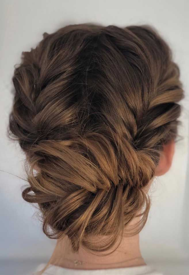 64 Chic Updo Hairstyles For Wedding And Any Occasion in 2020 | Guest hair, Updos for medium ...