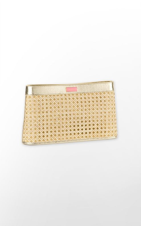 lilly is officially dangerous: Gold Clutch