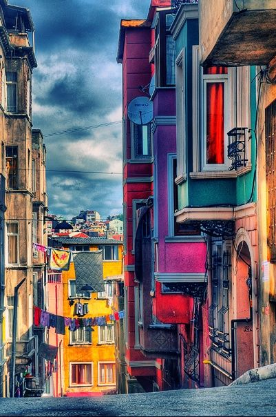 The Magic of Istanbul >>> What a colorful street http://www.buypropertyistanbul.com/
